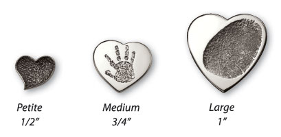 Imprint On My Heart Custom Fingerprint Jewelry