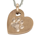 Pet Paw Large Heart