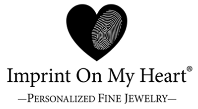 Imprint On My Heart Personalized Handwriting and Fingerprint Jewelry